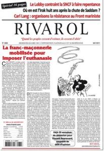 Journal Rivarol 2984
