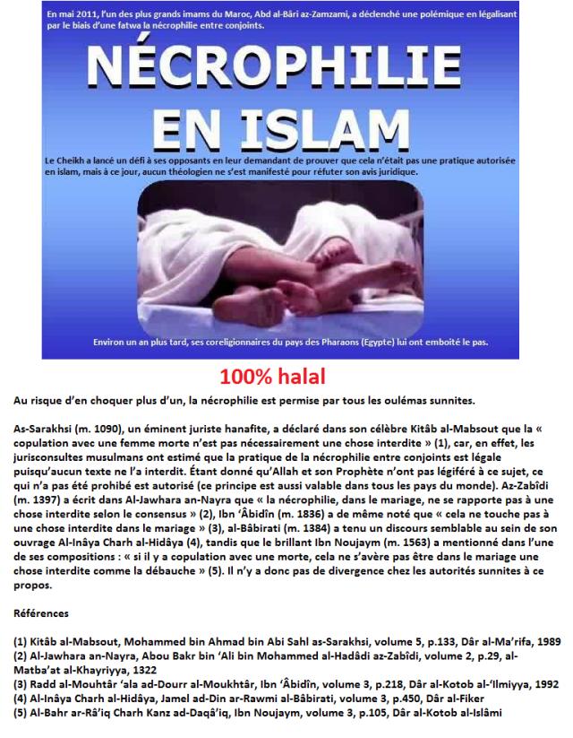 islam necrophile