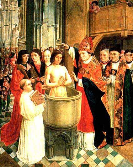 La vocation de la France - Page 7 Bapteme-clovis