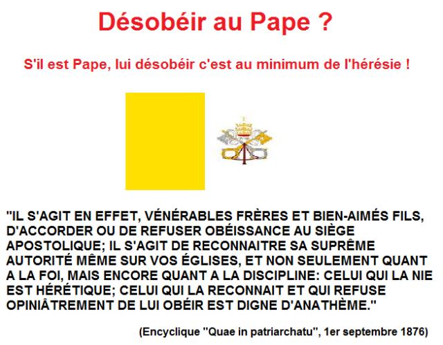 conciliaire pape