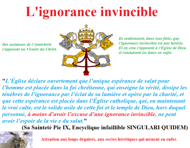 ignorance invincible