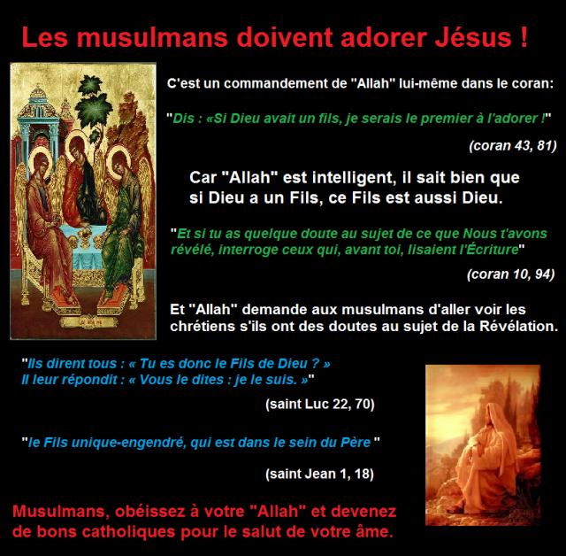 le fils d'allah adoration